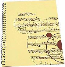 Jacksking 50 páginas Notación Musical Cuaderno