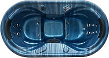 Jacuzzi para 2 personas SAMOA II azul oscuro - 16