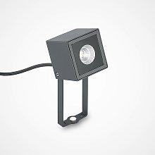Jalal foco de exterior LED con pica de tierra - ELC