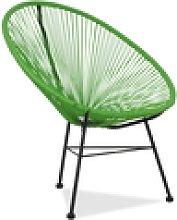 JALSV ACAPULCO sillón color verde. Medida:
