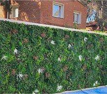 Jardin vertical artificial. Modelo Nature 100x100
