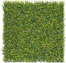 Jardín Vertical sintético Buxus imitación hojas
