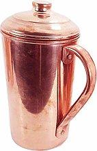 Jarra de almacenamiento de agua de cobre puro 100%