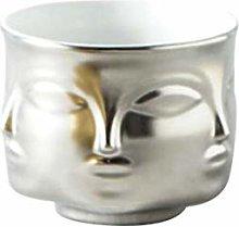Jarrón de cerámica para plantas nórdicas en