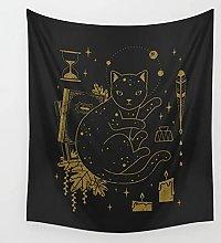 JEIBGW tapizTapiz de Tarot para Colgar en la
