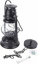 Jenngaoo Lámpara de Huracán LED Vintage,