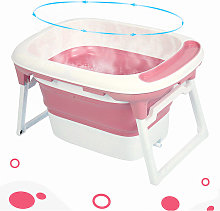 JEOBEST Asiento de baño y tapón de drenaje (rosa