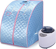Jeobest - Cabina de sauna de vapor Sauna Portable