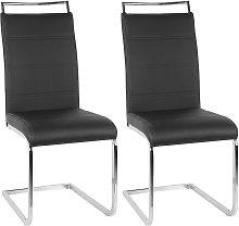 Jeobest - Juego de 2 sillas de comedor Sillas