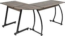 Jeobest - Mesa de esquina mesa de escritorio para