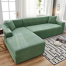 JHLD Funda De Sofá para Forma De L Sofa, Alta