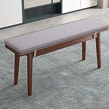 jHuanic Cojín de banco rectangular para muebles