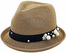 JIANGJINLAN Sombrero del sol del sombrero del jazz
