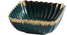 JICJANFENG Plato de Cena Placa de cerámica de