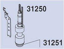 Jimten 031250 Mecanismo de cisterna, Gris,