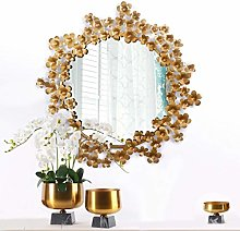 JINKEBIN Espejo de pared Escultura Espejo Porche