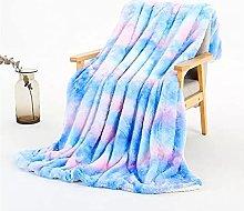 Jjiu Manta de franela ligera, sábana de invierno,
