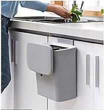 Jolitac Cubo de basura para colgar en la cocina,