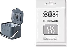 Joseph Joseph Stack 4 - Cubo De Basura, Gris +