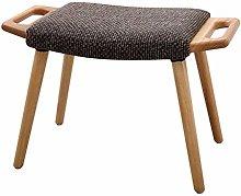 JPL Taburete de madera para el hogar, taburete