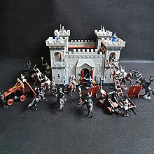 Juego Castillo Set Juguete Medieval Castillo