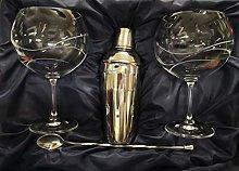Juego DE 2 Copas DE Gin Tonic 990 CL 3 Piezas