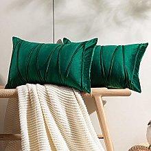 Juego de 2 fundas de cojín para sofá decoración