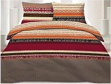 Juego de cama 100% algodón INDIRA - 240 x 260 cm