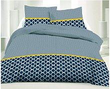 Juego de cama 100% algodón LAURIS - 220 x 240 cm