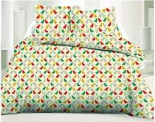 Juego de cama 100% algodón MATY - 220 x 240 cm +