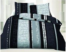 Juego de cama 100% algodón NAYA - 220 x 240 cm +