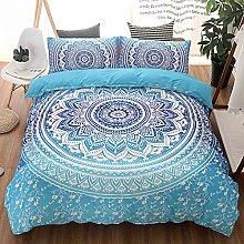 Juego de cama de 3 piezas Exótico diseño étnico