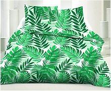 Juego de cama estampado 100% algodón FORESTO -