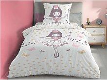 Juego de cama infantil 100% algodón BALLERINE -