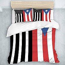 Juego de Funda nórdica, Bandera de Puerto Rico de