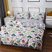 Juego de ropa de cama 3D con diseño de dinosaurio