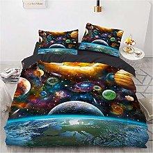 Juego de ropa de cama con diseño de cielo