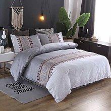 Juego de ropa de cama con diseño de flores