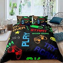 Juego de ropa de cama para niños Gamepad Juego de