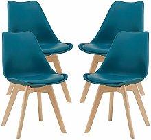 Juego de sillas de Comedor 81 x 49 x 57 cm Silla