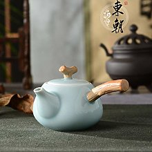 Juego de té de cerámica, tetera de cerámica,