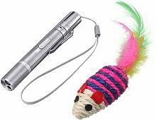Juguete Recargable de Gato con USB LED Pointer