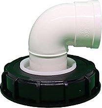 JUTTA Tapa de tanque IBC de 165/245 mm de nailon