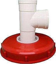 JUTTA Tapa de tanque IBC nailon, lavable con tapa