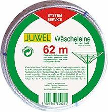 Juwel Wäschespinnen-Leine 62m