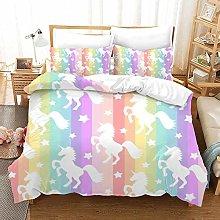 JXING Juego de ropa de cama con diseño de