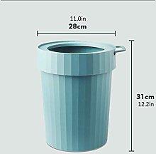 JYDQM Cubos de Basura, Bote de Basura de Plástico