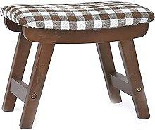 JYHJ Nuevo taburete de madera sólida banco de
