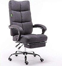 JYHQ Silla ergonómica giratoria de oficina, silla