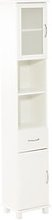 JYSK Armario baño SKALS 35x188 blanco